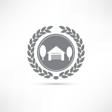 House for sale icon Stock Vector - 22660733