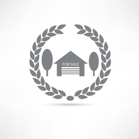 House for sale icon Stock Vector - 22660801