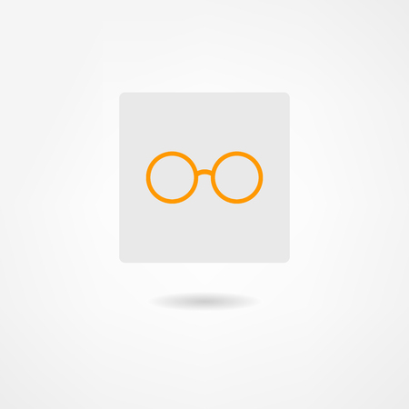 glasses icon Stock Vector - 22660806
