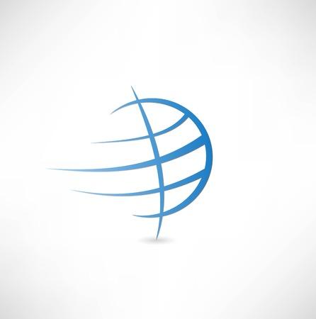Planet Erde-Symbol Standard-Bild - 22660803
