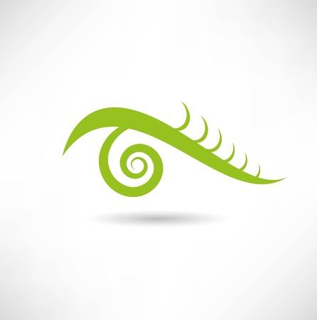 abstract eye: eye icon