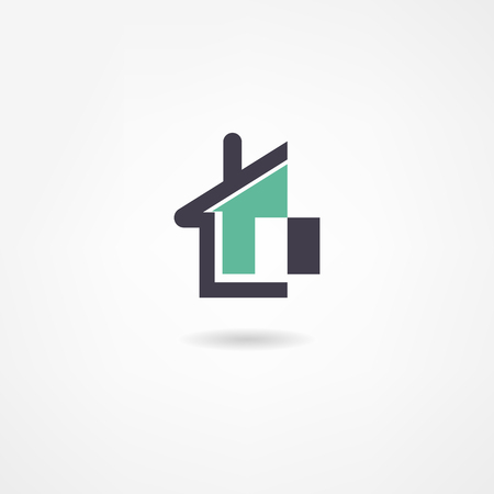 architecture detached house: house icon
