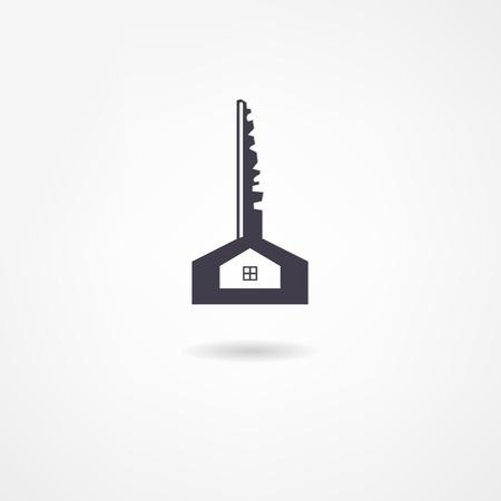 old key: key icon