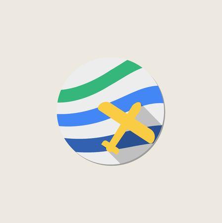 plane icon Vettoriali