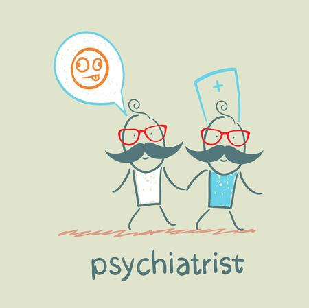 psychiatrist goes to the patient, which is crazy