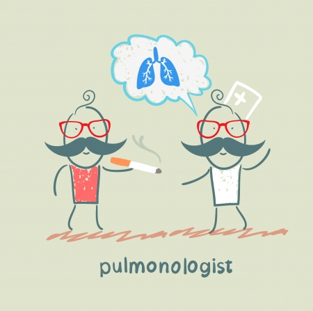pulmonology: pulmonologist pulmonologist says lung patient who smokes