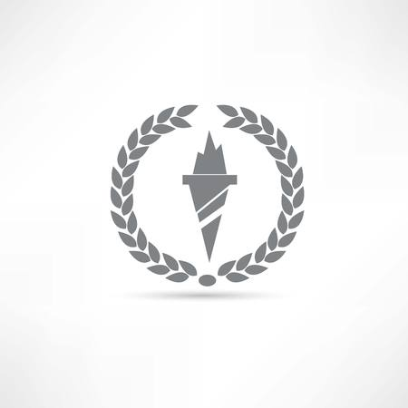 torch icon Vector
