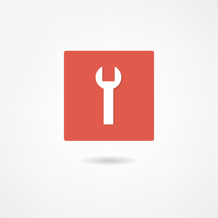 wrench icon Stock Vector - 22662589