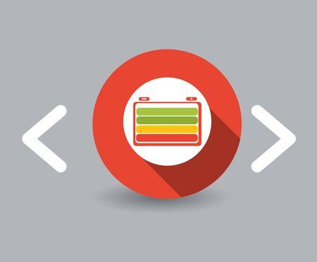 Batterie-Symbol Vektorgrafik