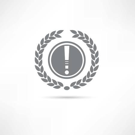caution icon Stock Vector - 22798205