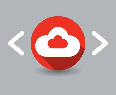 altitude: cloudlet icon Illustration