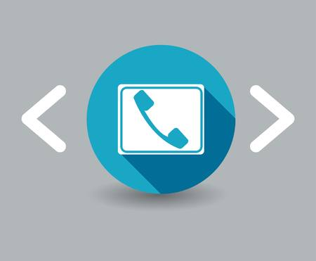 closet communication: handset icon