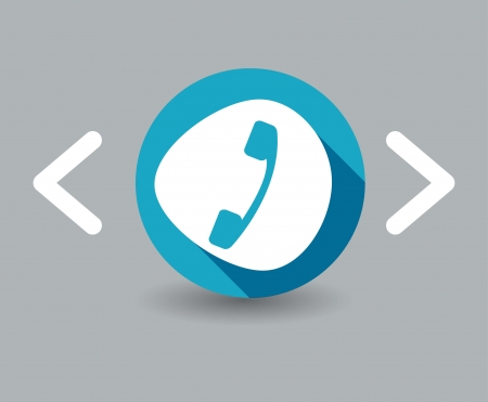 closet communication: handset icon