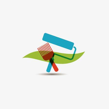 home icon: Home repair icon Illustration