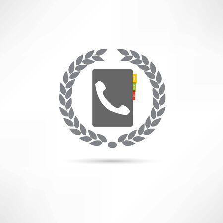 touchphone: phone book icon