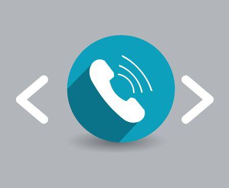 phone icon Illusztráció