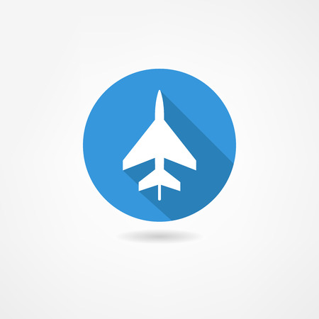 airplane icon Stock Vector - 22866277