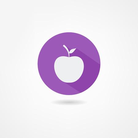 apple bite: apple icon