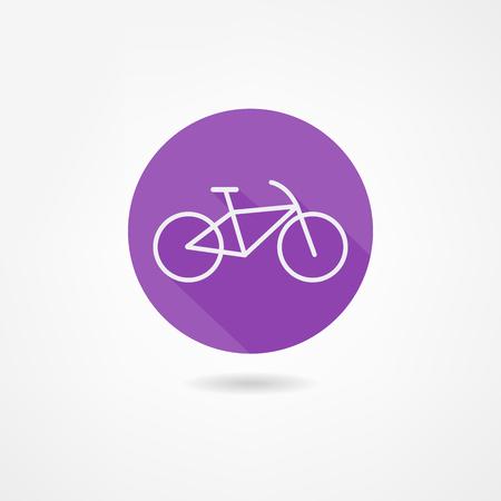 bike icon Reklamní fotografie - 22866286