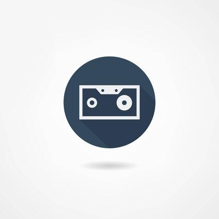 cassette icon Иллюстрация