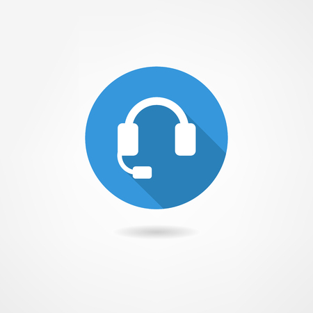headset symbol: headphones icon