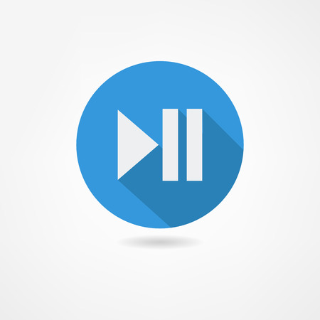 video player: play icon