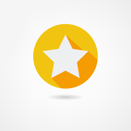 five stars: star icon Illustration