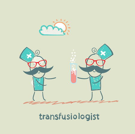 should: transfusiologist suggests that blood transfusion should