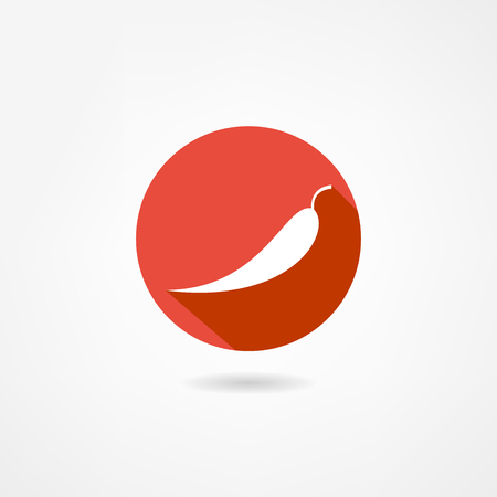 chilly: pepper icon Illustration