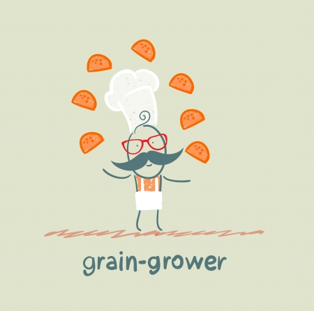 grower: grain grower juggles bread
