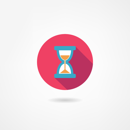 sand timer: hourglass icon
