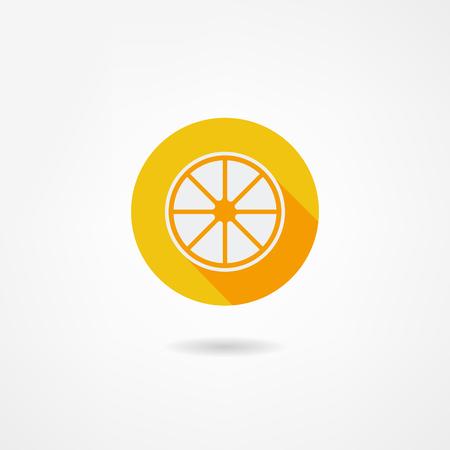 range fruit: lemon icon