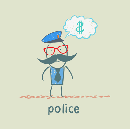 traffic police: police think about the money