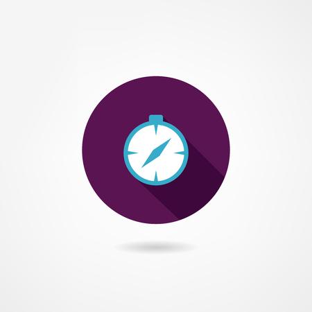 compass icon Stock Vector - 23110405