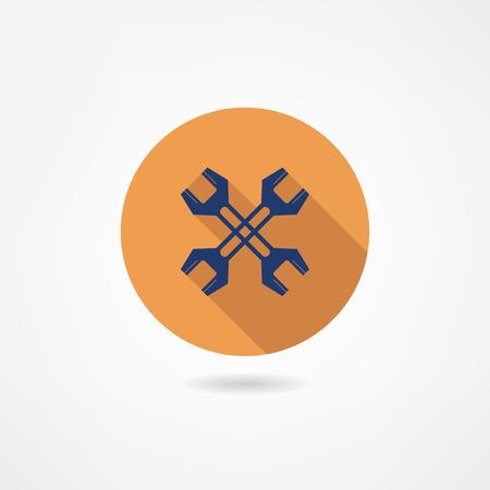 tooling: setting icon Illustration