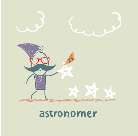 astronomer: astronomer gives the order stars