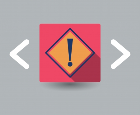 attention icon Stock Vector - 23761279
