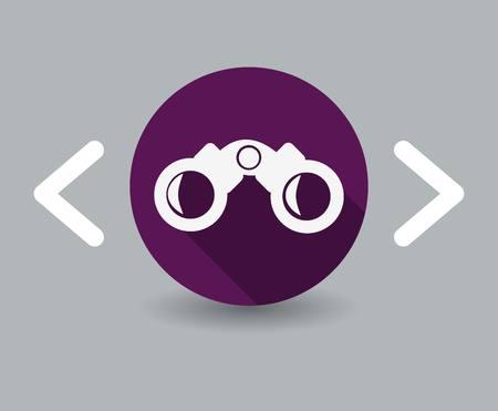 binoculars icon Zdjęcie Seryjne - 23709033