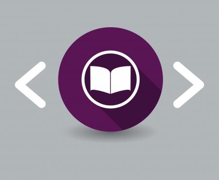 publish: book icon Illustration