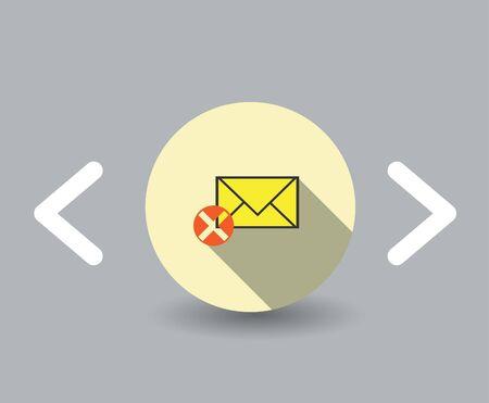 Icono de mensajes de error Foto de archivo - 23708945