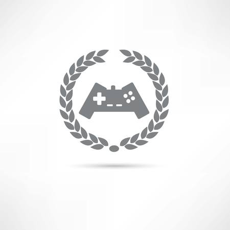 joypad: game icon Illustration