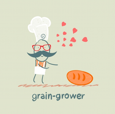 grower: grain grower in love with bread