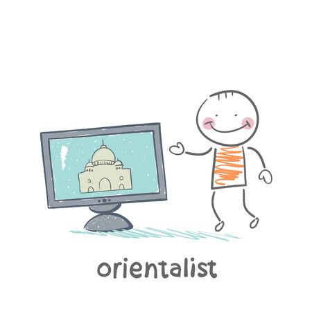 talks: Orientalist talks about East