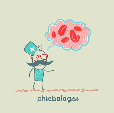 phlebologist says a presentation on blood