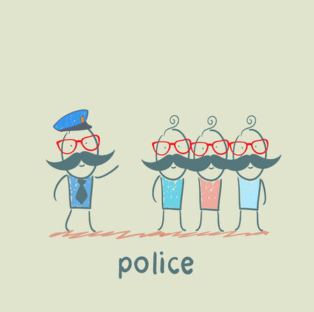 said: Police said the criminals