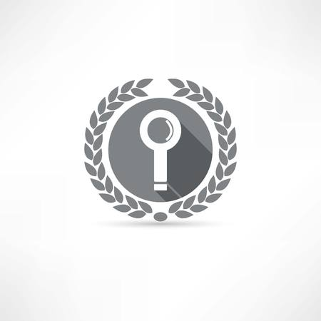 search icon Stock Vector - 23708704