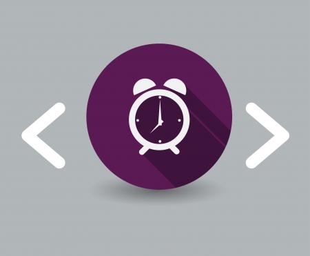 time icon Stock Illustratie