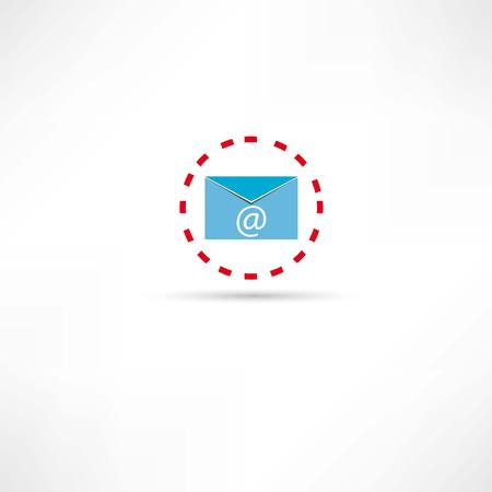 email icon: e-mail icon Illustration