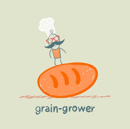 grower: grain grower is on bread
