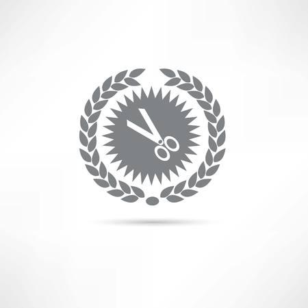 scissors icon Фото со стока - 23761668